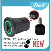 LED Light Key Switch Locks