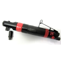"""Two Function AIR RATCHET WRENCH W/ 3/8""""&1/2""""Driver Adaptor"""