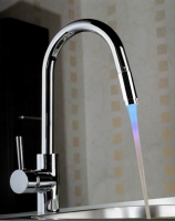 Battery-Free LED Lighting Faucet