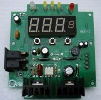溫控烙鐵焊台控制面版
