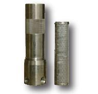 High-pressure fluid filter