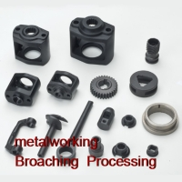 Air tool parts broaching