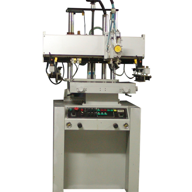 Electric Flat type screen printing machine