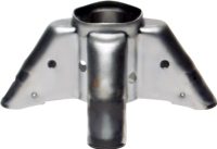Pressed metallic supports