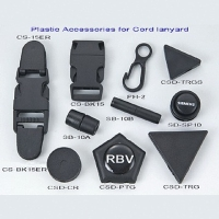 Plastic Accessories for Cord Lanyards