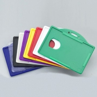 Colored ID Badge Holders