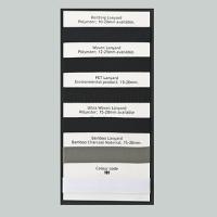 Lanyard Material & Color Samples