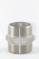 Cens.com Hex Nipple GOOD LOYAL CORP. STAINLESS STEEL PIPE FITTING