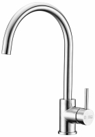 Stainless steel SINGLE LEVER SINK MIXER(U-type)