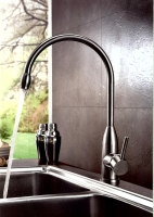 Stainless steel  SINGLE LEVER SINK MIXER
