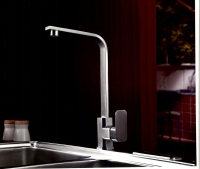 Stainless steel SINGLE LEVER SINK MIXER(SQUARE)