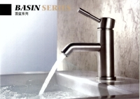 Stainless steel BASIN MIXER