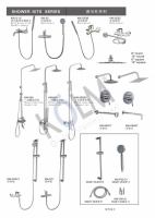 STAINLESS STEEL SHOWER KITS SERIES