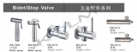 Cens.com STAINLESS STEEL HARDWARE & BIDET &STOP VALVE SERIES SANS CHUAN CO., LTD.