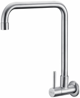 Stainless steel WALL-MOUNTED SINK COLD TAP(L-type)