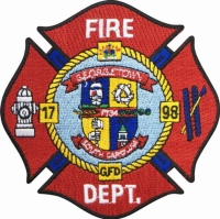 Embroidered Fire & Rescue Patch