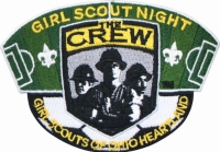 Embroidered Scout Patch