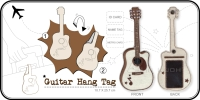 Guitar hang tag