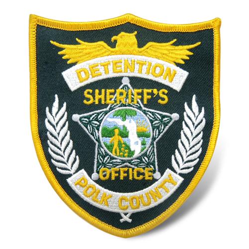 警察刺绣臂章