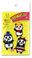Panda Family Sticker