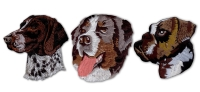 狗系列刺绣臂章