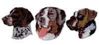 狗系列刺繡臂章
