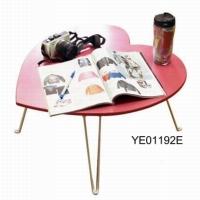 Heart-shaped end table
