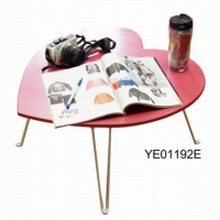 Heart-shaped end table