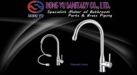 D-series kitchen telescopic faucet/copper-free