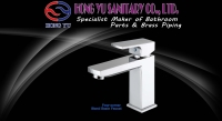 Four-corner stand Basin faucet