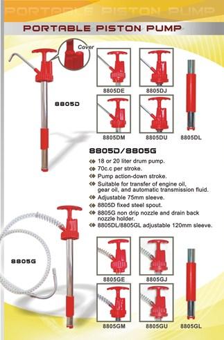8805D  drum  pump