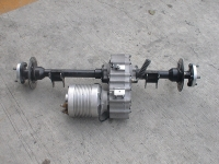 Electric motor conversion kits