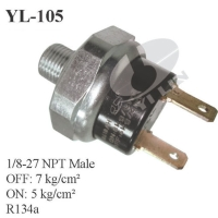 Air compressor pressure switch