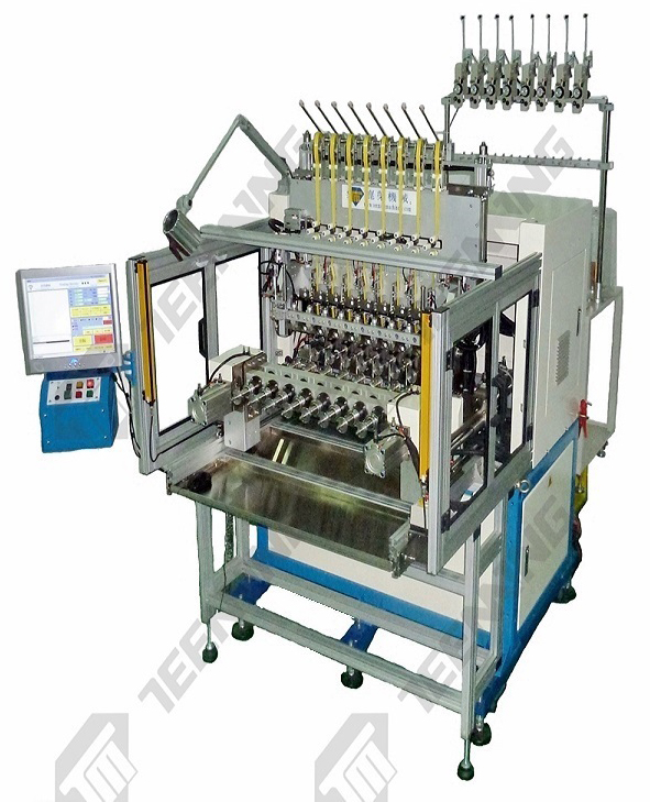 AD-TM-5008-08-TP 8 SPINDLE COIL TAPING MACHINE