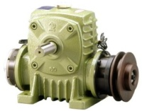 Worm Gear Reducer with Clutch / Brake -