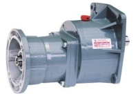Small Gear Reducer Motor-Input Flange Type with Horizontal Mount -