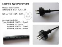 CENS.com Australia Type Power Cord (TA-8)