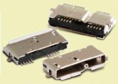 USB3.0 Micro-AB Receptacles