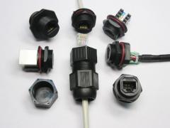 IP 68 Screw Lock Waterproof Connector