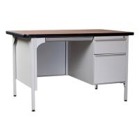 Steel Desk w/ Single Pedestal