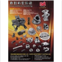 Cens.com Lost Wax Casting CHIPS INVESTMENT CASTING INC.