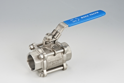 3-pcs Thread End Ball Valve(Without Platform)
