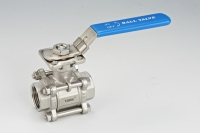 3-pcs Thread End Ball Valve(High Platform)