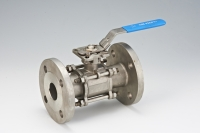 3-pcs Flanged Ball Valve