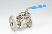 2-pcs Flanged Ball Valve