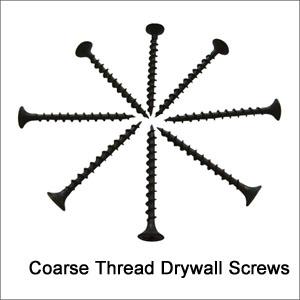 Drywall Screws, Coarse Thread