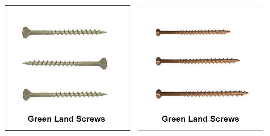 Green Land Screws