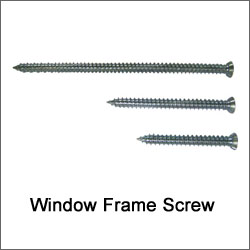 Window Frame Screw