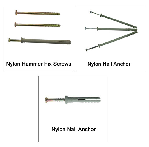 Nylon Hammer Fix Screws