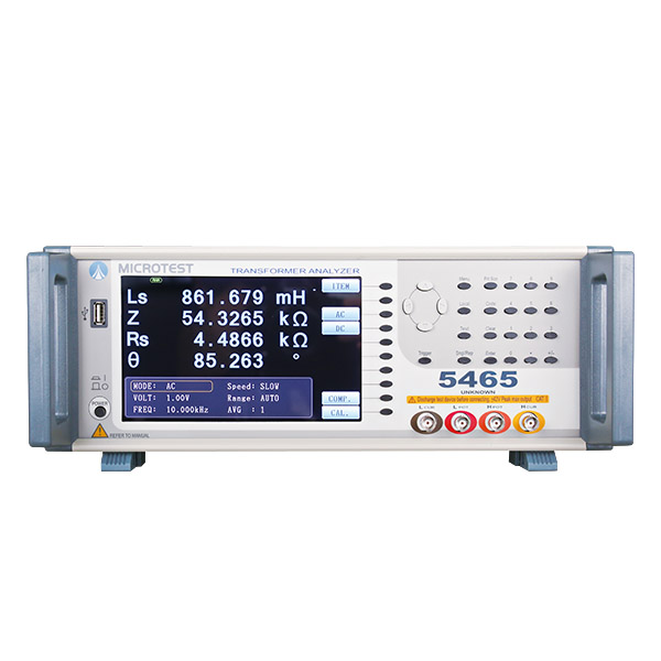 5465 Transformer tester